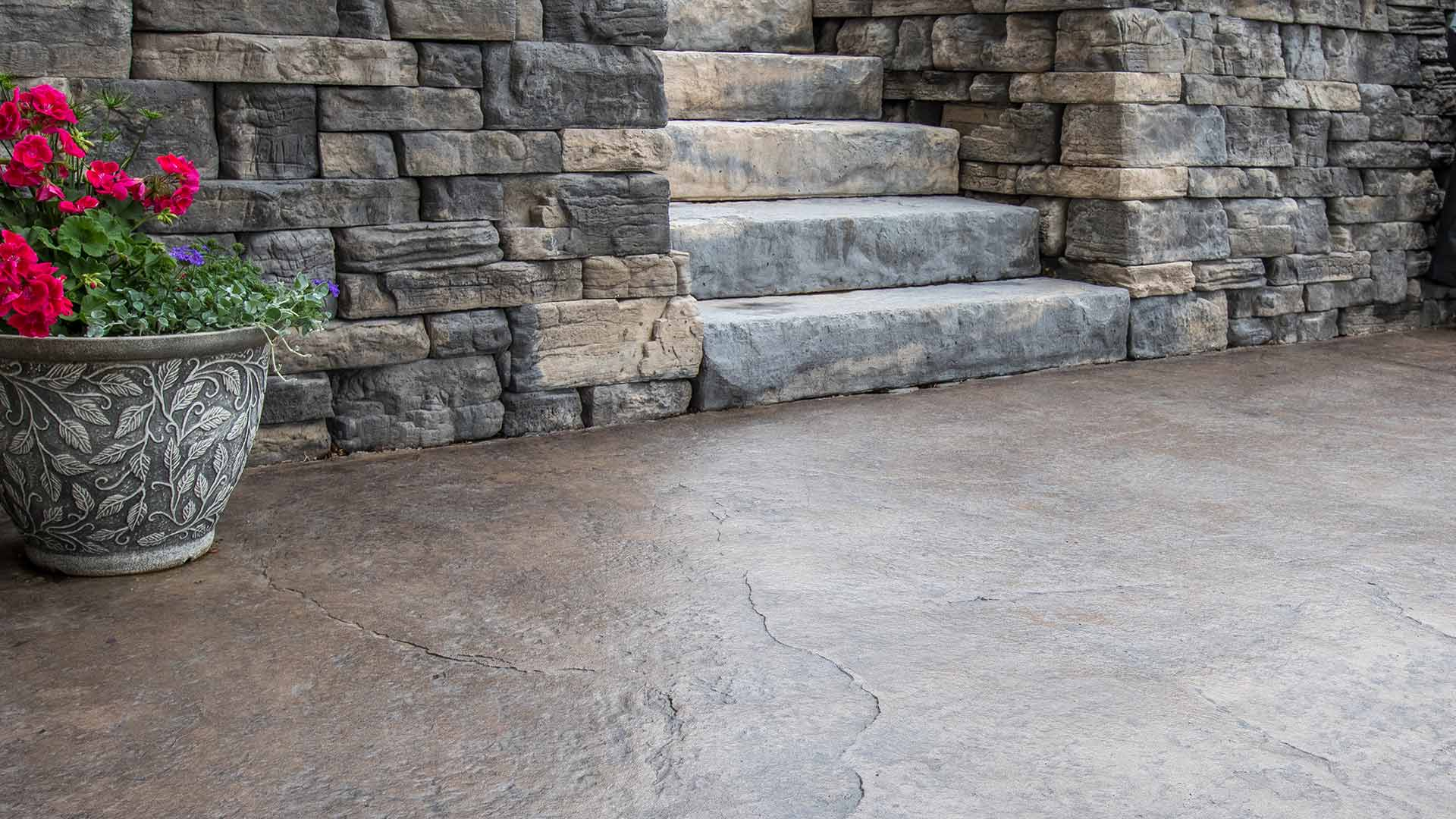 Beautiful Stamped Concrete