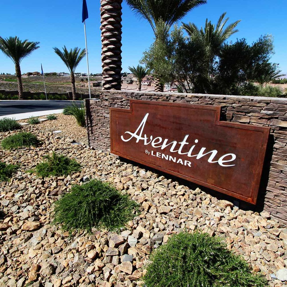 Aventine - Landscape Project by Sunstate Companies of Las Vegas