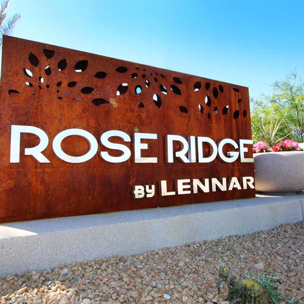 Rose Ridge - Landscape Project by Sunstate Companies of Las Vegas