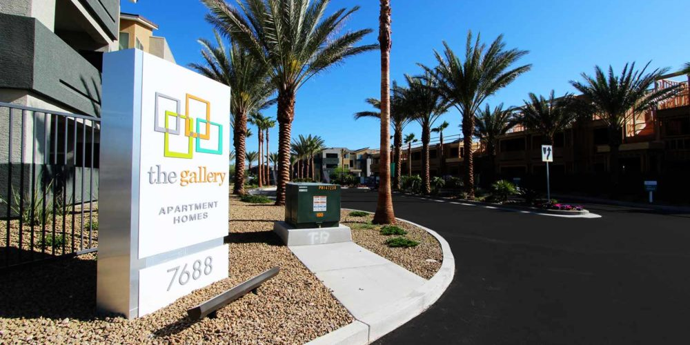 The Gallery - Landscape Project by Sunstate Companies of Las Vegas